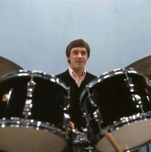Kenney Jones Black Ludwig Kit with the Small Faces