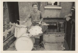 Kenney Jones First Drum Kit