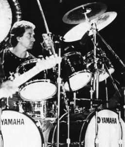 Kenney Jones' double bass drum kit from Yamaha