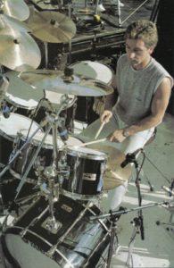 Black Yamaha Kit - Kenney Jones with The Who