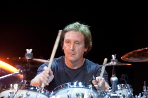 Kenney Jones - Yamaha kit - close up