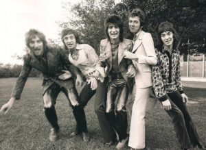 The Faces - Rod Stewart, Kenney Jones, Ron Wood, Ronnie Lane, Ian McLagan