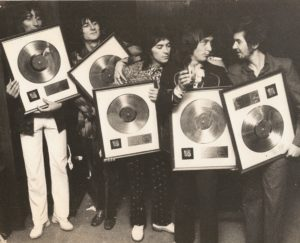 The Faces with Gold Discs