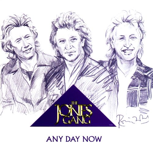 The Jones Gang - Any Day Now - CD Cover