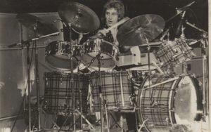 Kenney Jones with The Faces, Tartan Kit