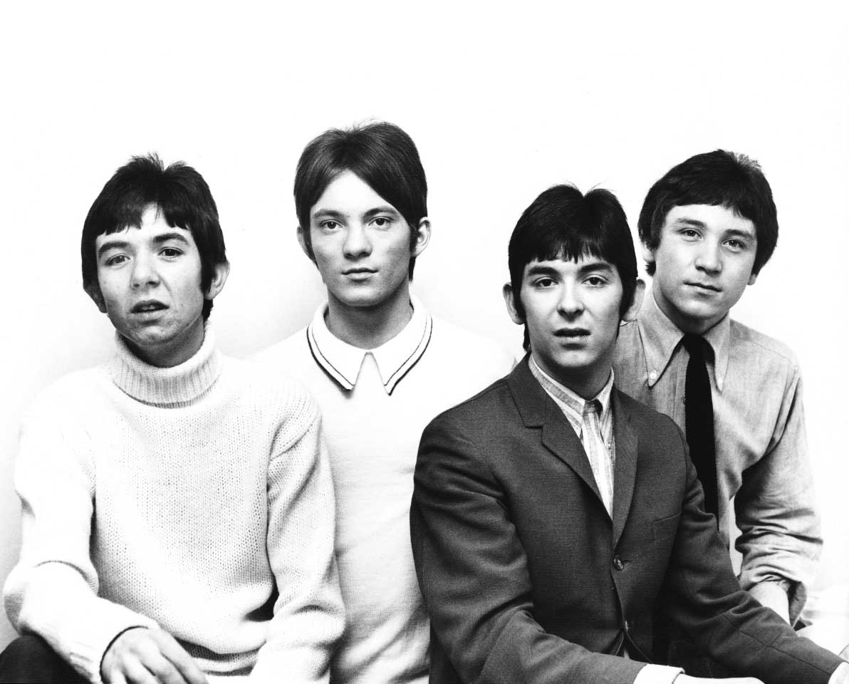 Kenney Jones with the Small Faces in 1966