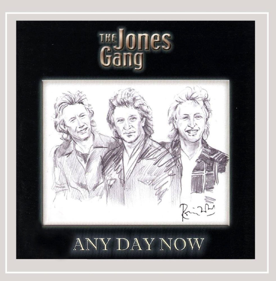 Any Day Now by The Jones Gang - cover