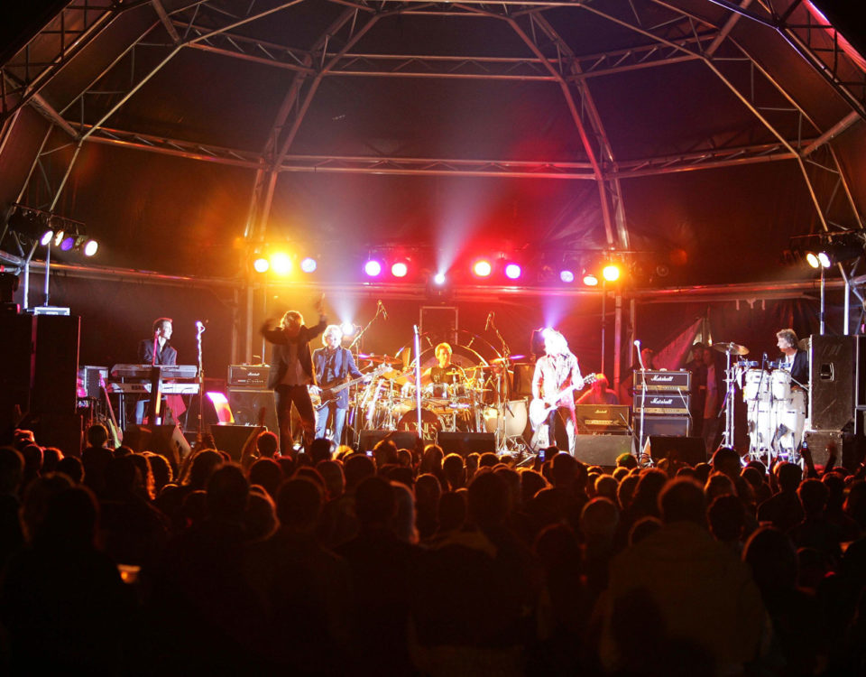 Kenney Jones & The Jones Gang live on stage