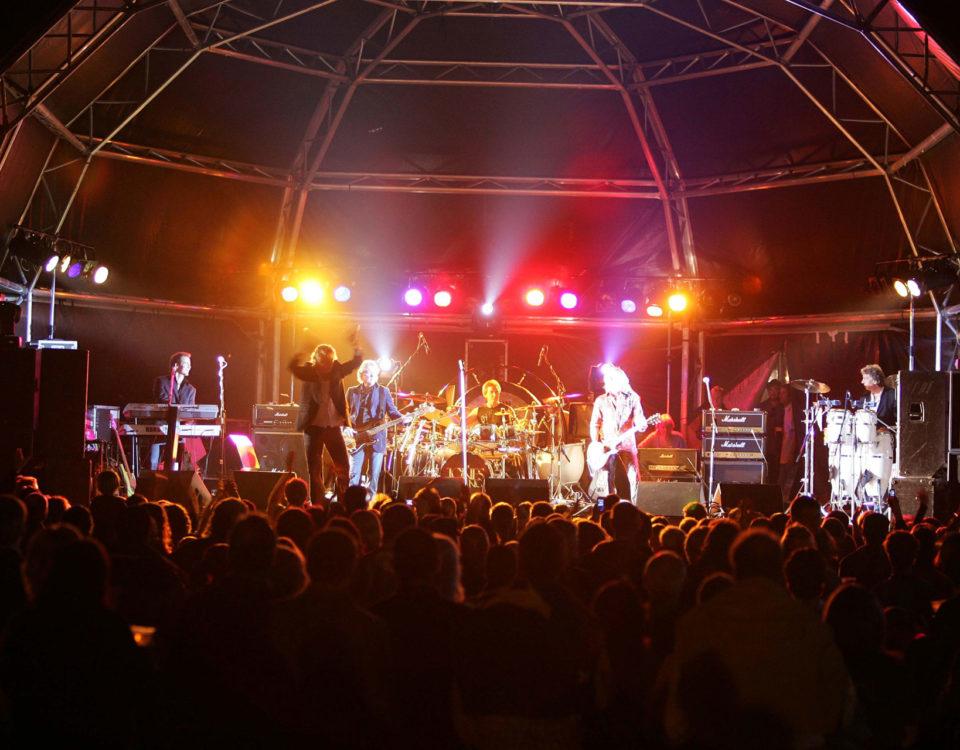 Kenney Jones & The Jones Gang live on stage