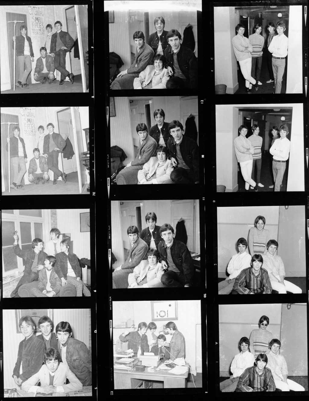 The Small Faces Photo Negatives