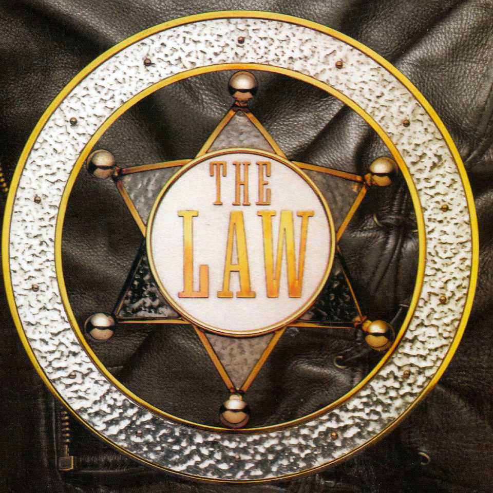 The Law - Kenney Jones, Paul Rodgers, cover