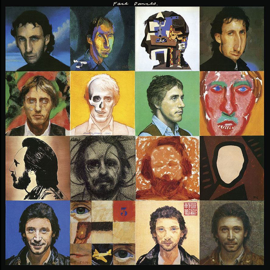 The Who - Face Dances - Cover